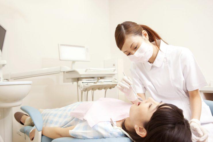 歯医者と患者
