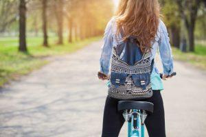 自転車 女性