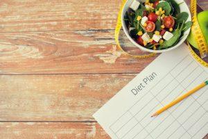 サラダとダイエットプラン