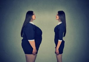 太っている自分と痩せている自分