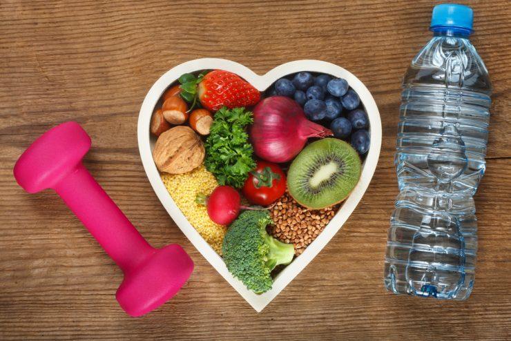 食べ物とダイエット道具