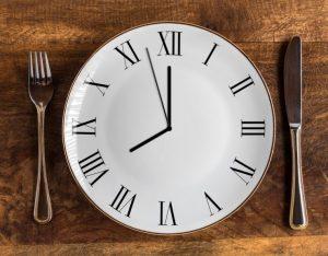 時計とフォーク