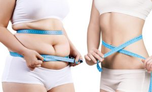 太っている人と痩せている人