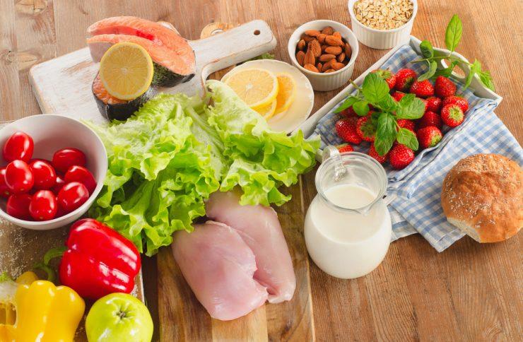 野菜と牛乳
