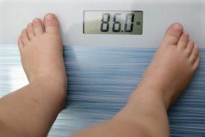 体重計に86kgと出てしまっている人