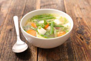 野菜たっぷりのスープ