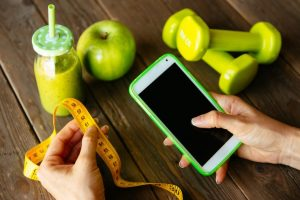 リンゴと携帯とメジャー