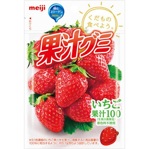いちご果汁グミ