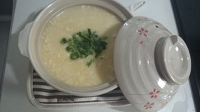 風邪やダイエットに♪豆腐の雑炊風(お粥)