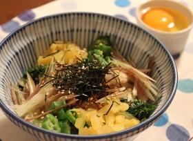 ☆簡単•低カロリー☆ヘルシーネバネバ丼