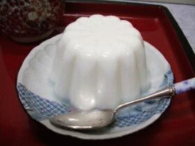 寒天菓子☆スキムミルクゼリー