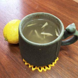 はちみつレモン生姜茶