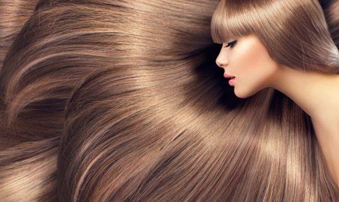 美しい髪女性