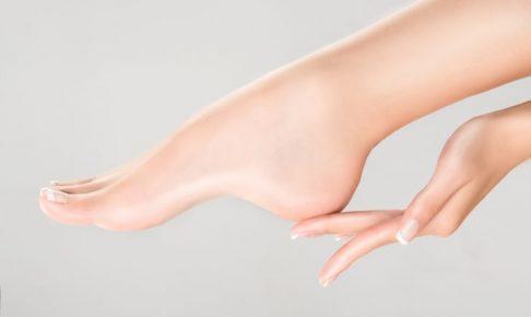 綺麗な手足