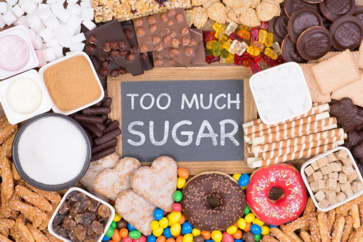 甘いもをの食べ過ぎ