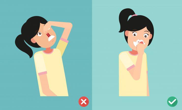 鼻血の止め方