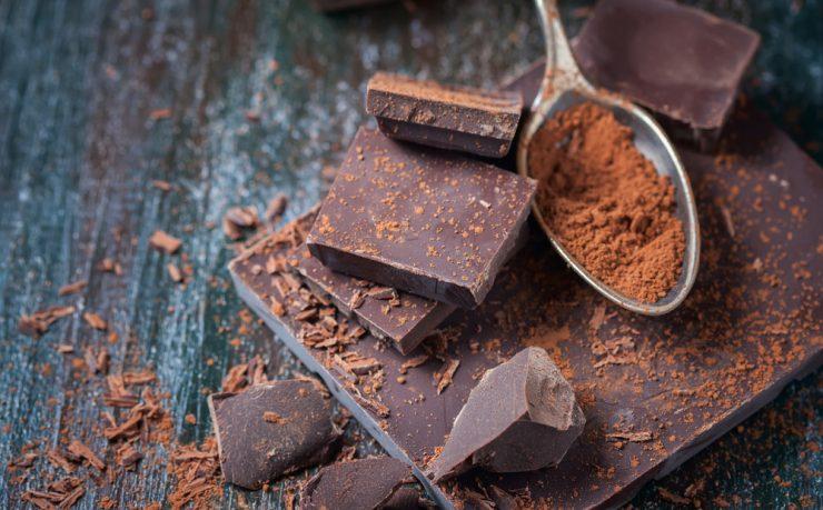黒いチョコレート