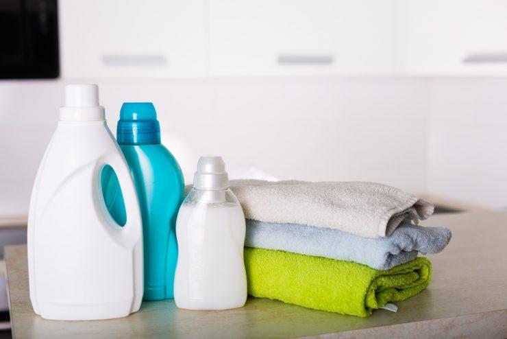洋服と洗剤
