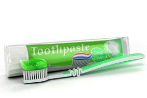 緑歯磨き粉
